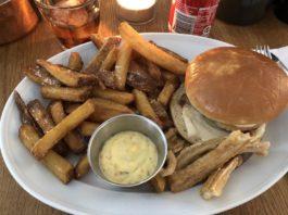 Lækker frokost i København - Flæskestegsandwich