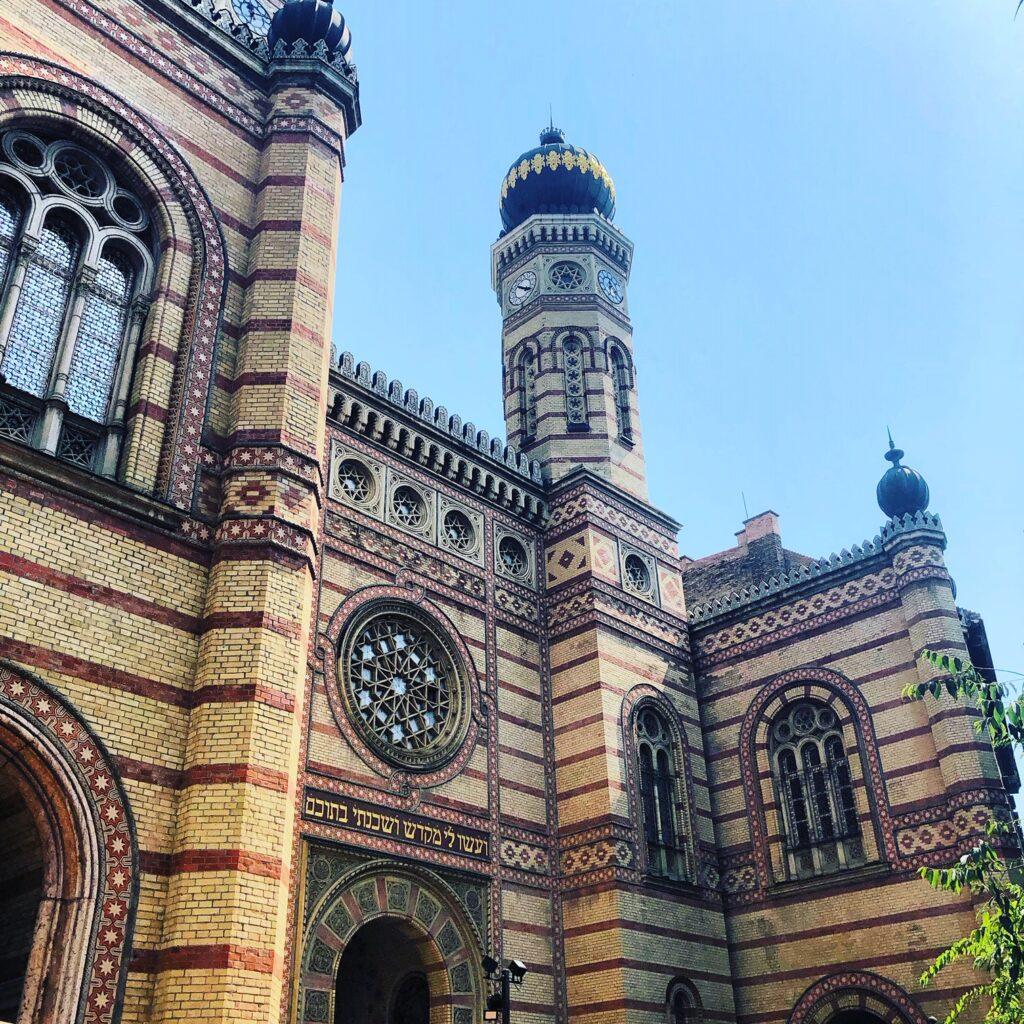 Jødiske synagoge i Budapest