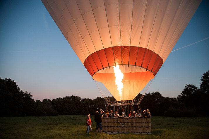 Ballonflyvning - en god oplevelsesgave