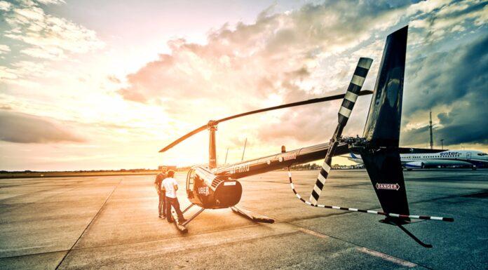 Oplevelsesgave - helikoptertur